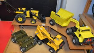 Toys and Juvenalia - a Tonka Jeep; others,
