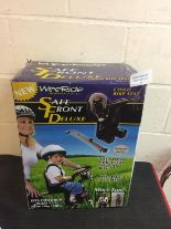 Lot 59 - WeeRide Front Mounted Deluxe Child Seat RRP £95.99