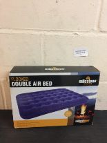 Lot 52 - Milestone Flocked Double Air Bed
