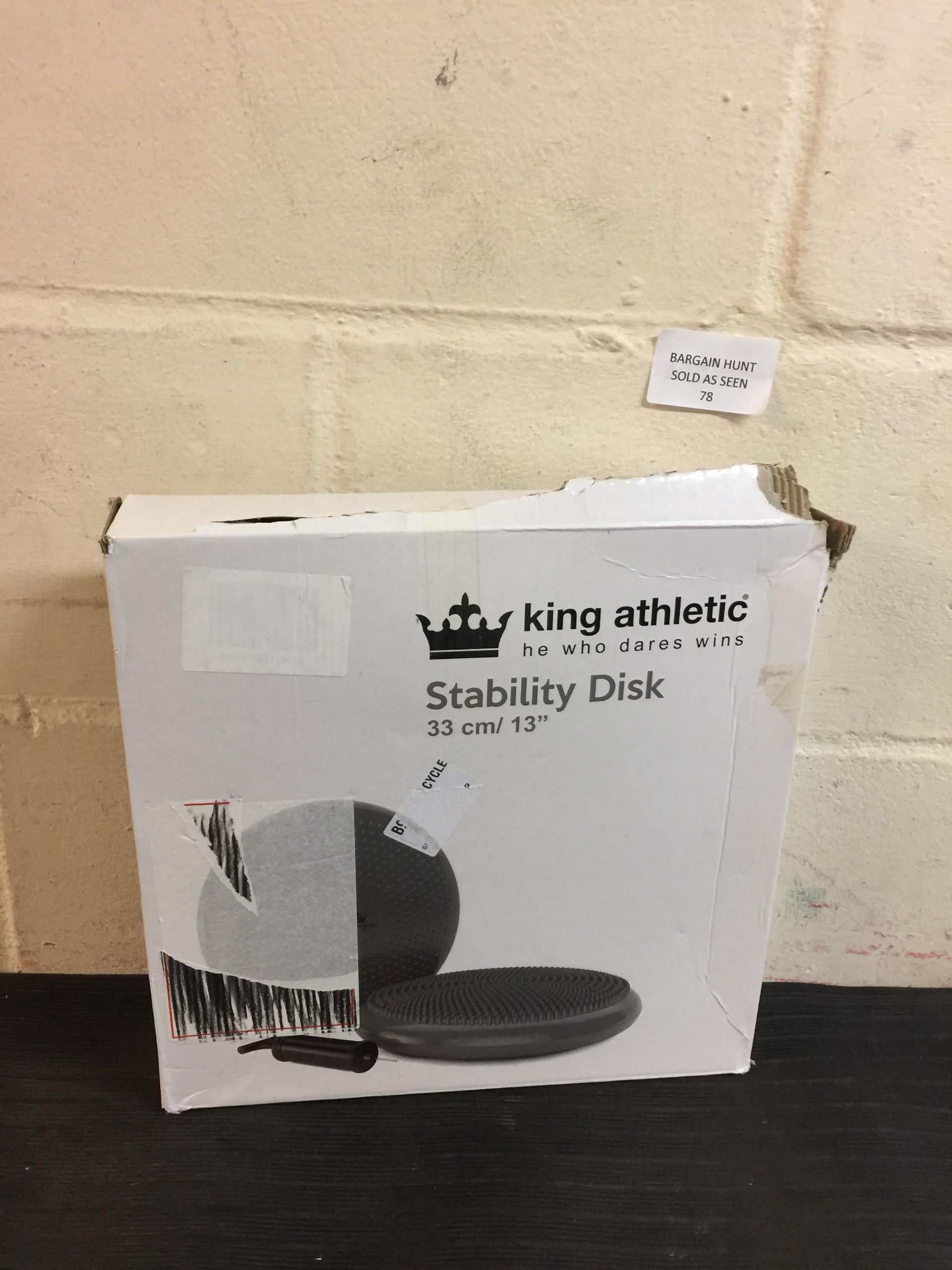 Lot 78 - King Athletic Stability Disk