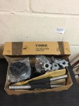 Lot 176 - York Fitness Dumbell and Weights Set