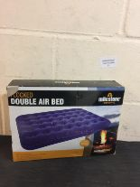 Lot 51 - Milestone Flocked Double Air Bed