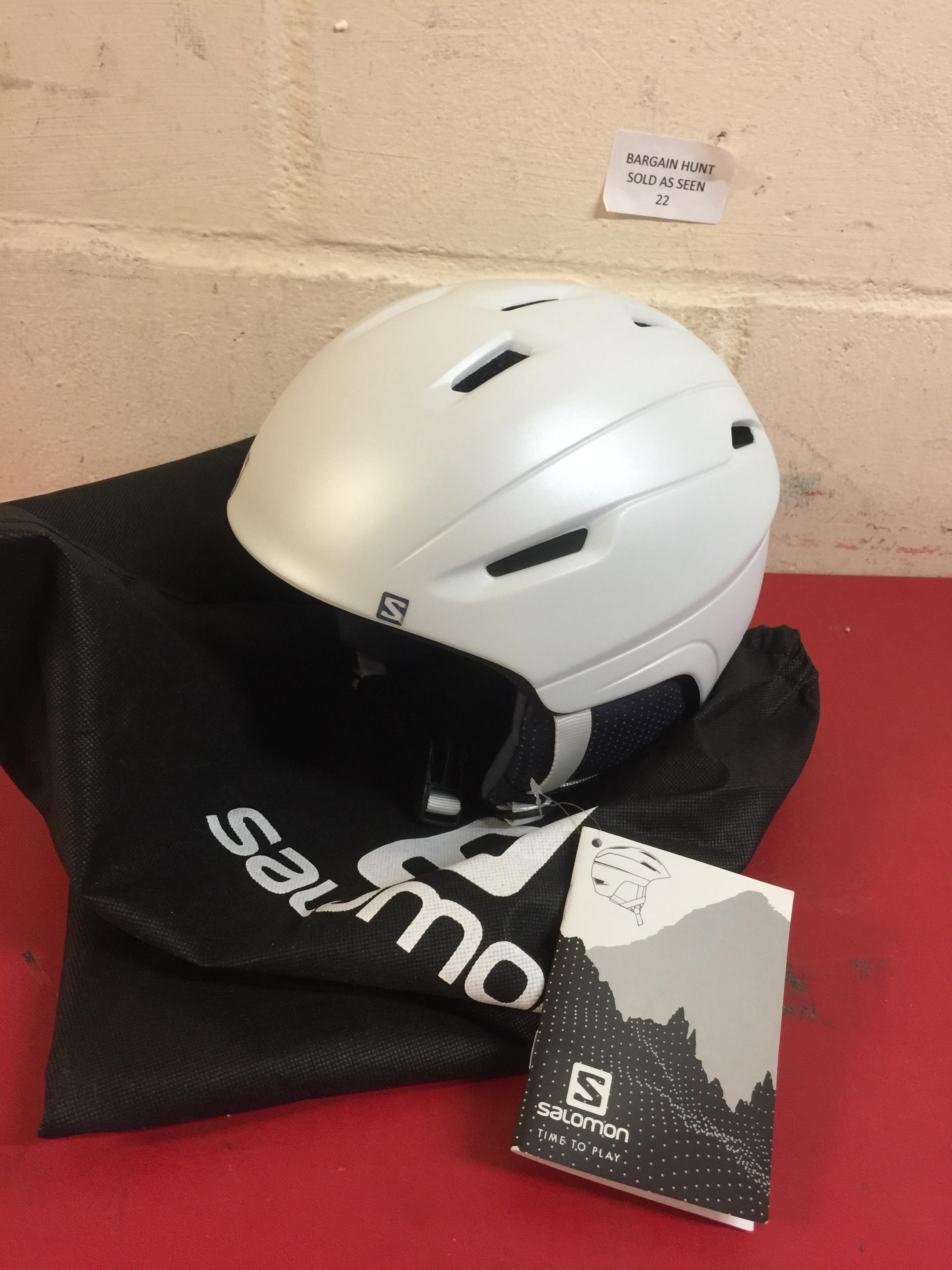 Lot 22 - Salomon, Women's Helmet, All Mountain Ski and Snowboard RRP £79.99