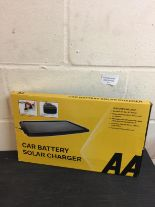 Lot 62 - AA Car Battery Solar Charger