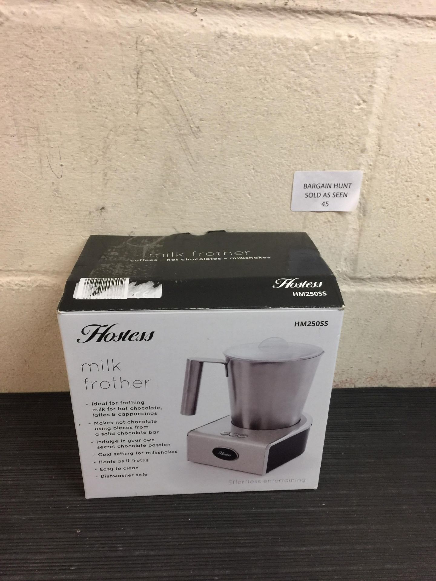 Lot 45 - Hostess Milk Frother
