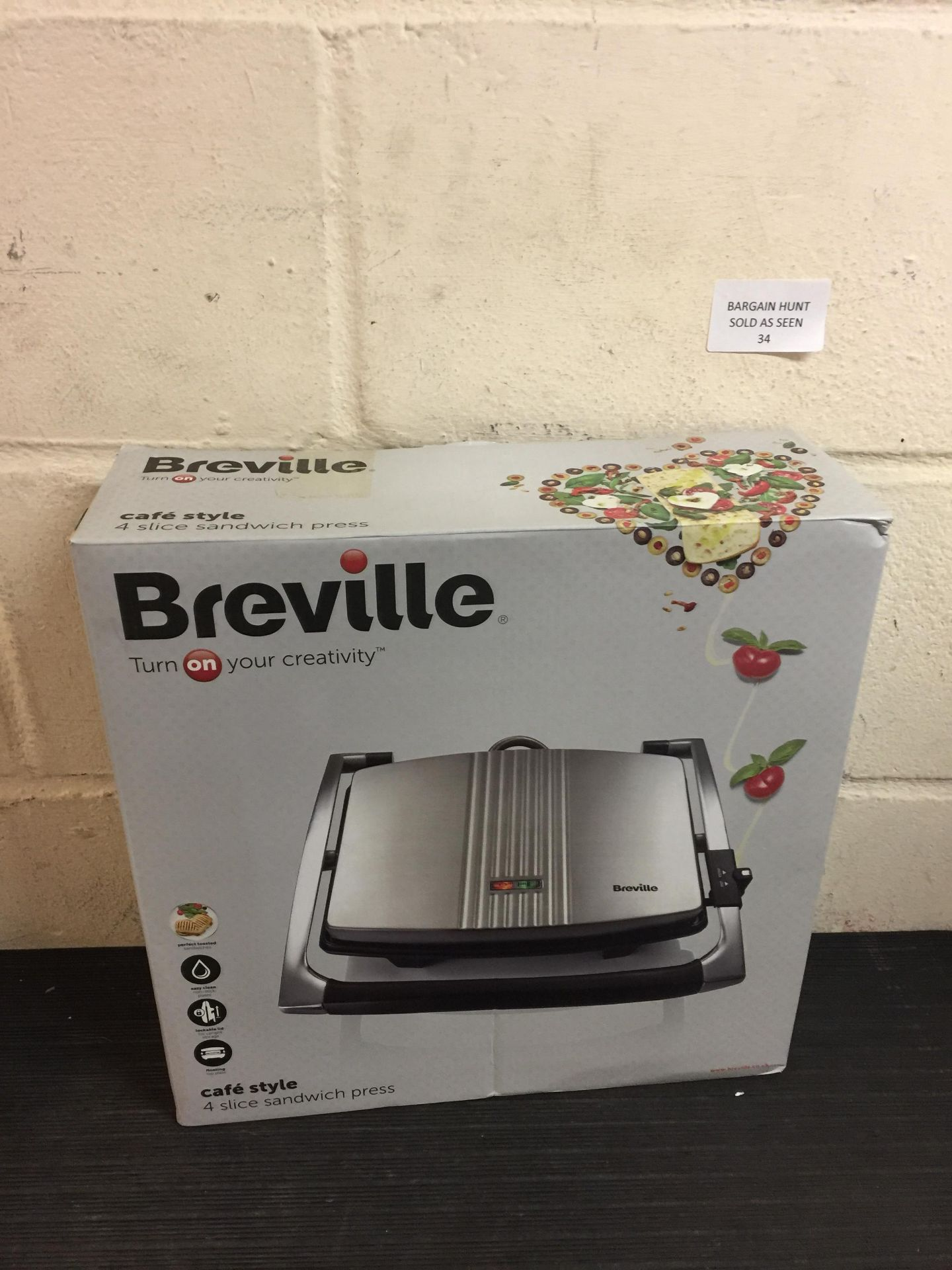 Lot 34 - Breville Sandwich Press