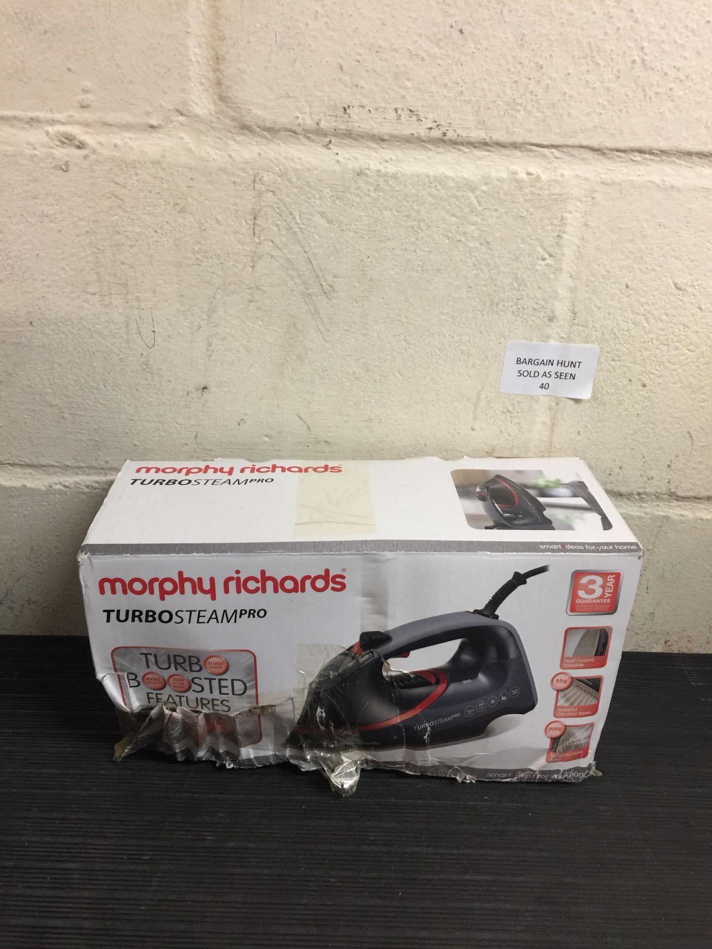 Lot 40 - Morphy Richards Steam Iron