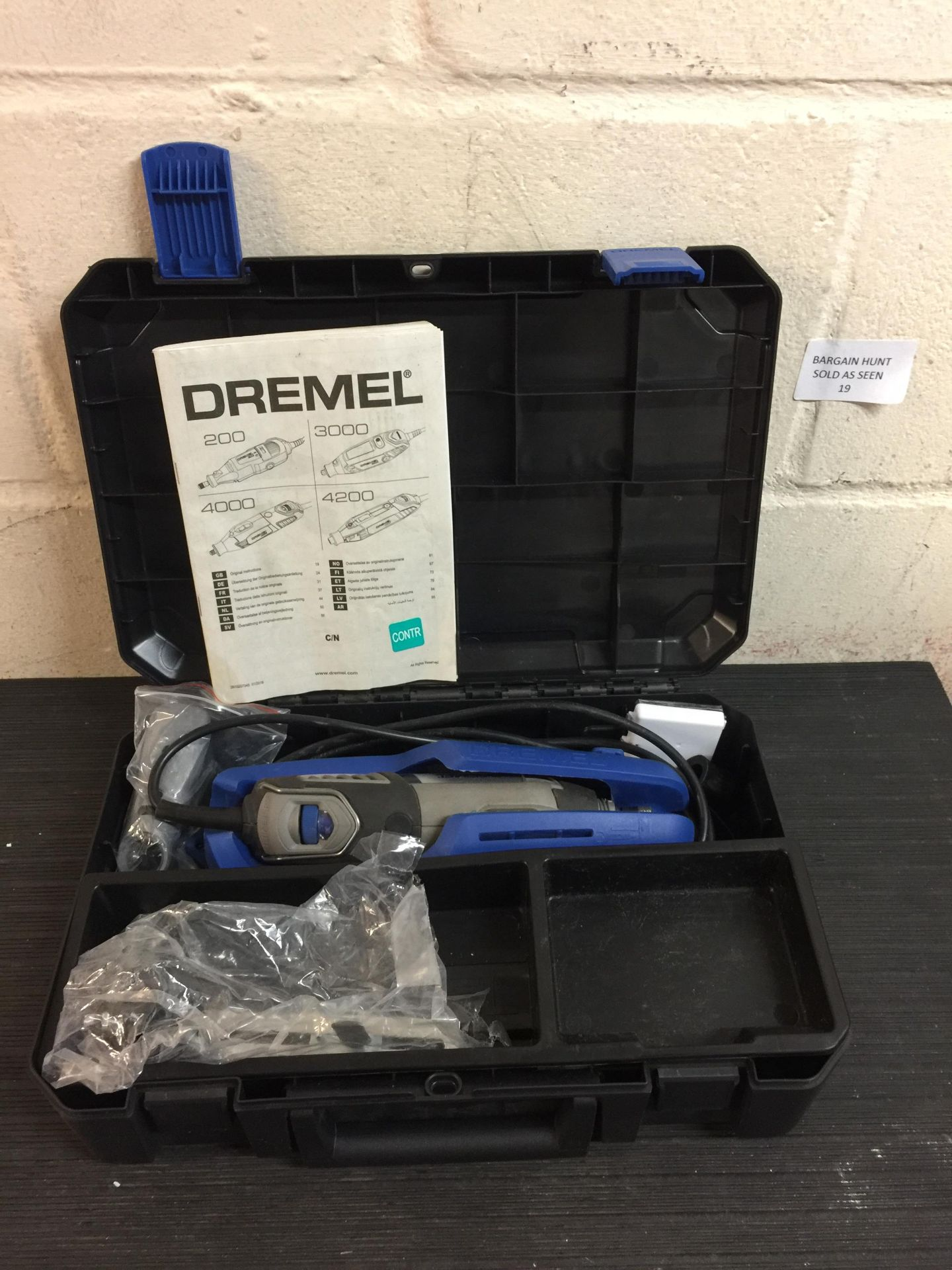 Lot 19 - Dremel 4000 Corded Multitool RRP £130