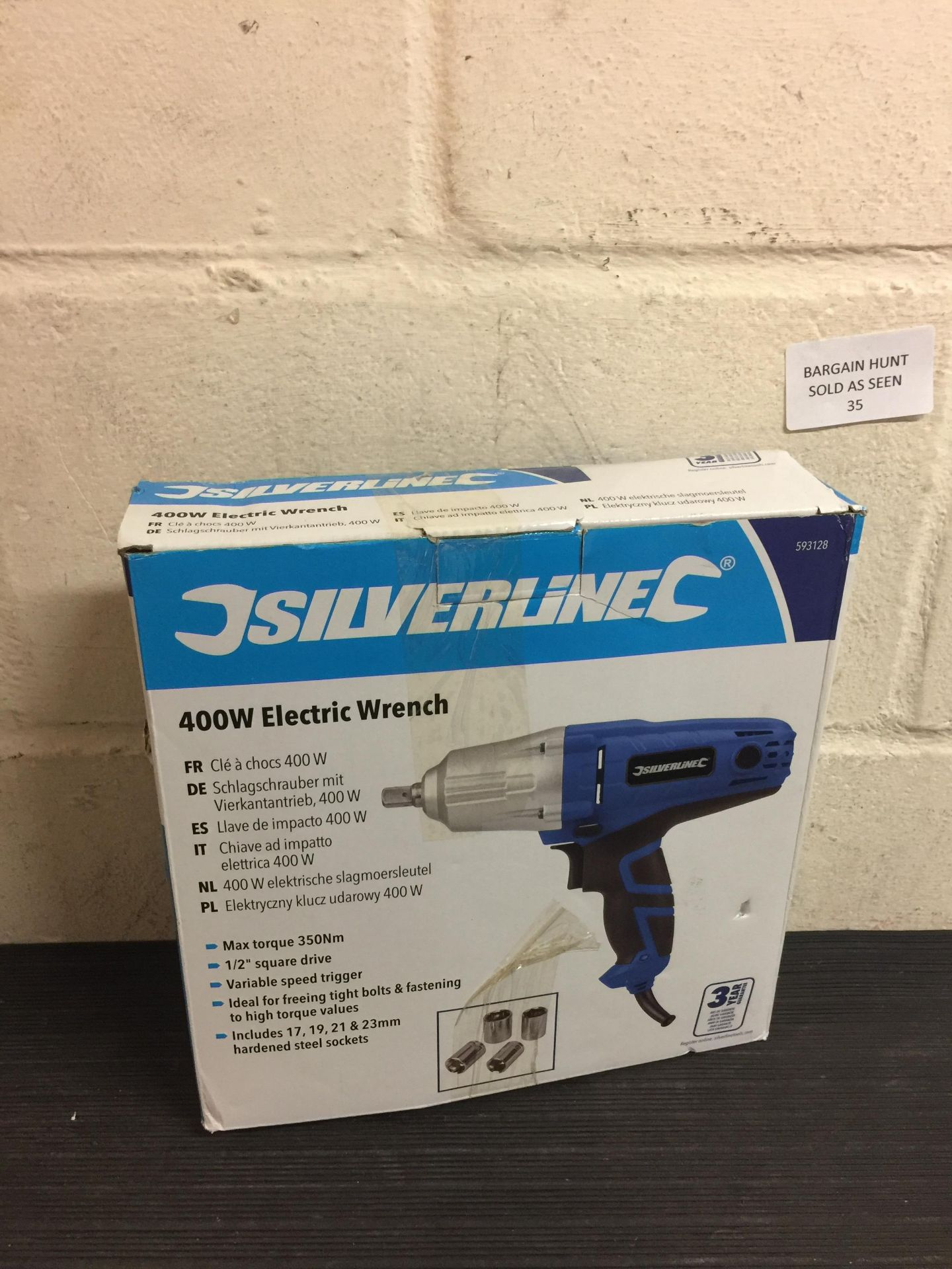 Lot 35 - Silverline Electric Wrench