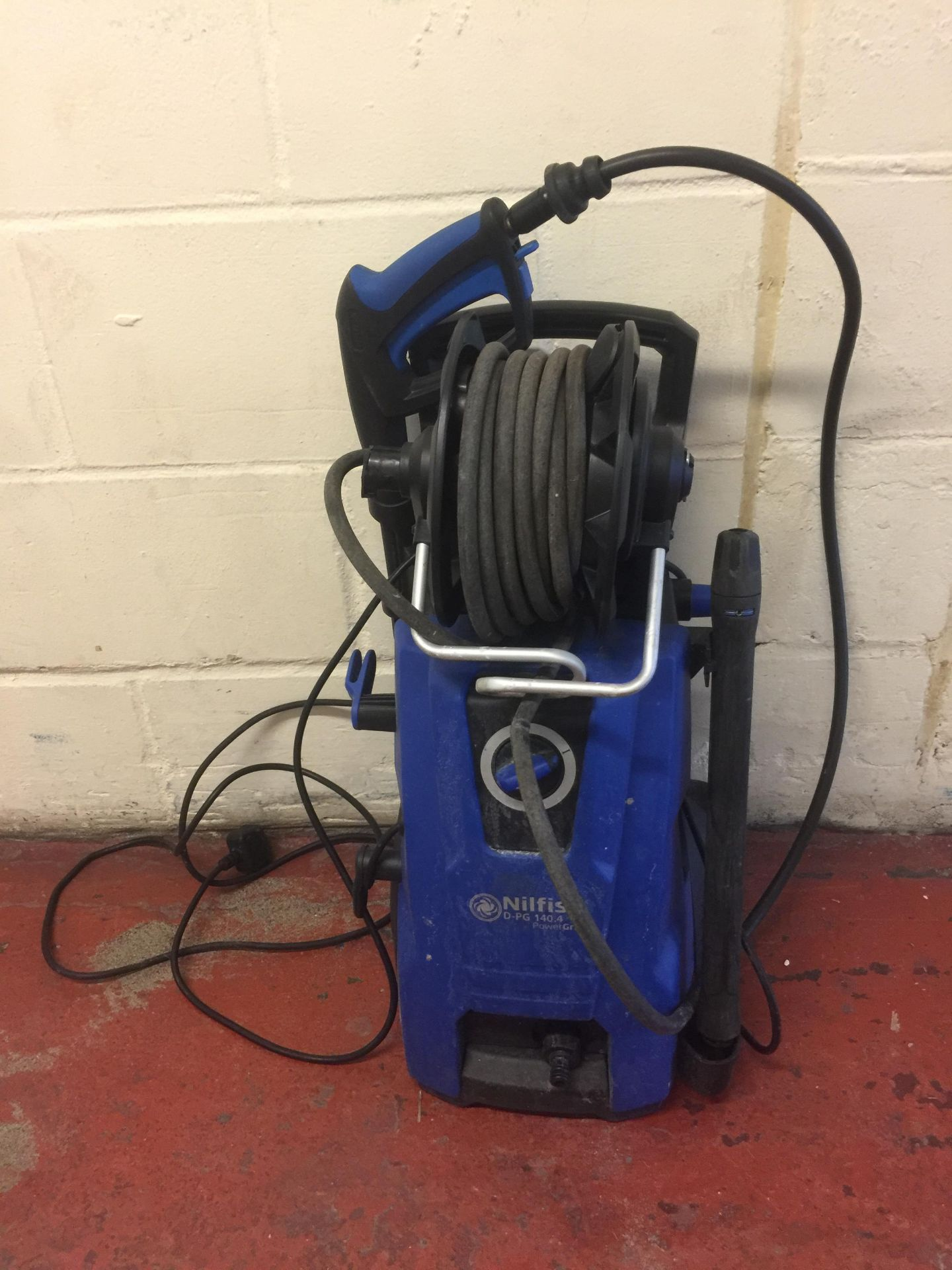 Lot 25 - Nilfisk D-PG 140.4 Pressure Washer with PowerGrip control RRP £250