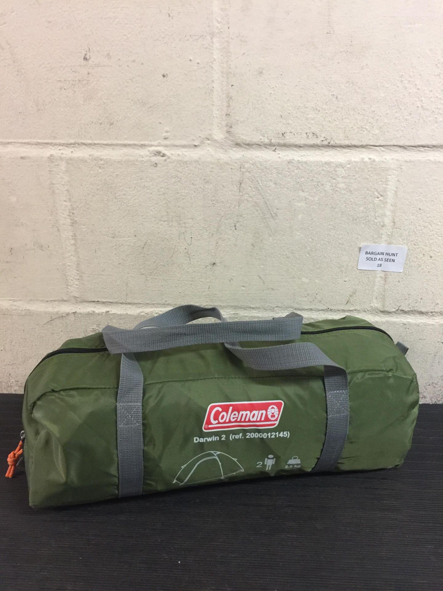 Lot 18 - Coleman - Tent Darwin 2