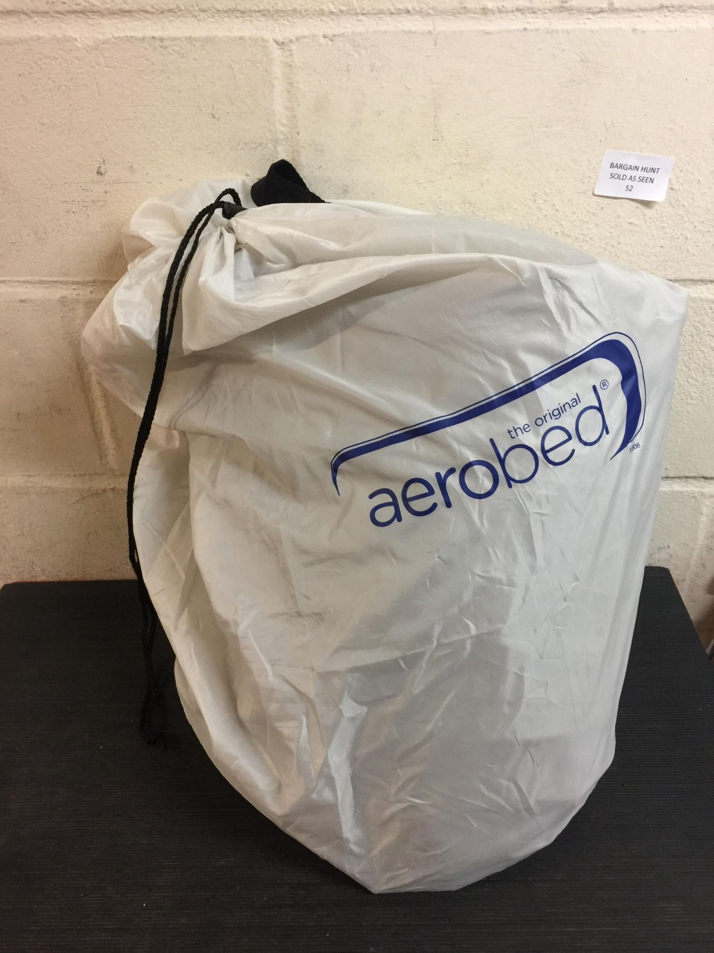 Lot 52 - Aerobed Luxury Air Bed with Built-In Electric Pump