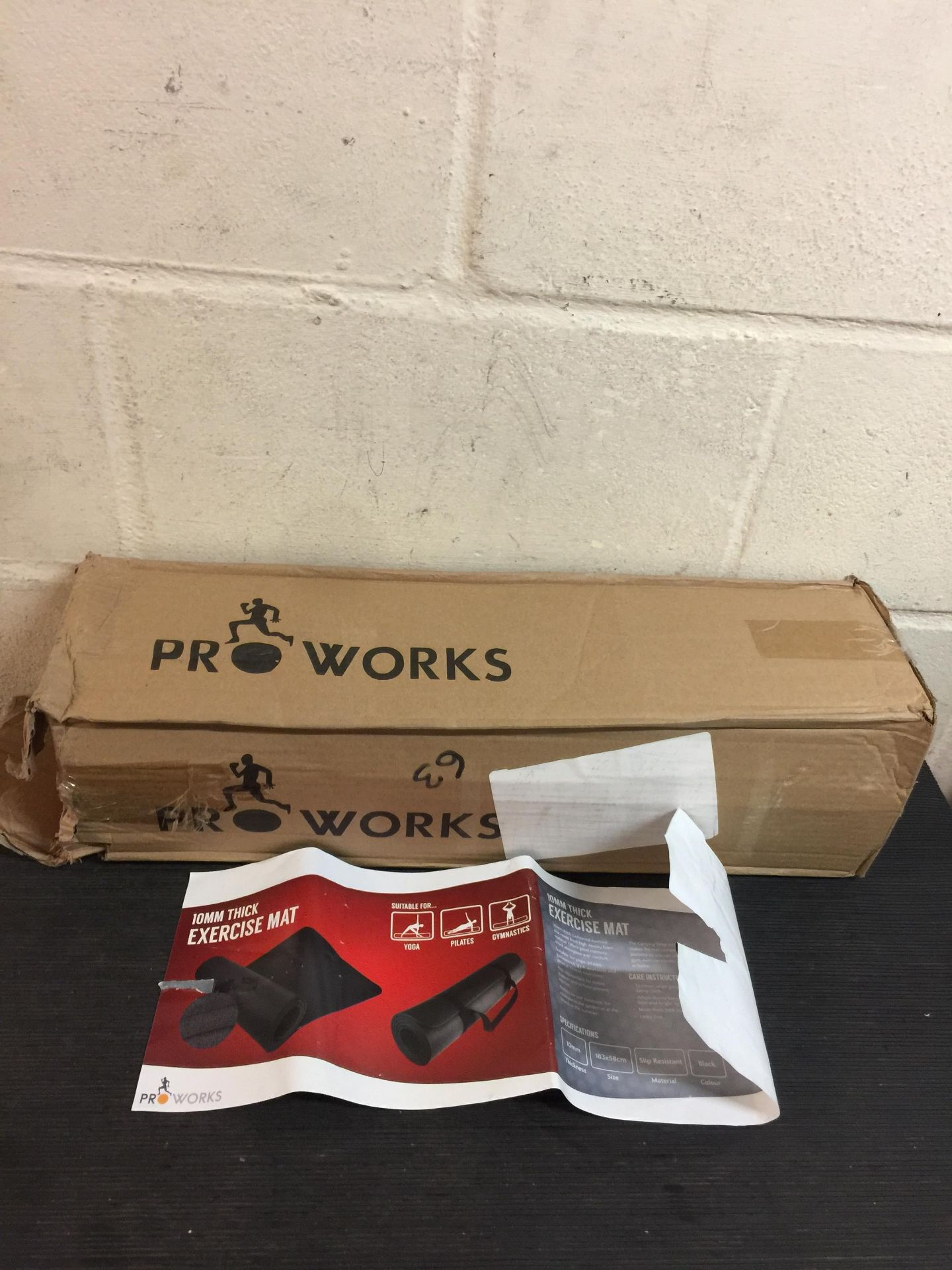 Lot 59 - Pro Works Exercise Mat