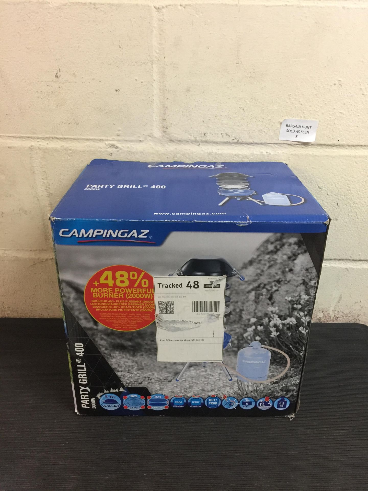 Lot 8 - Campingaz Party Grill 400 Camping Stove, All in One portable Camping BBQ RRP £86.99