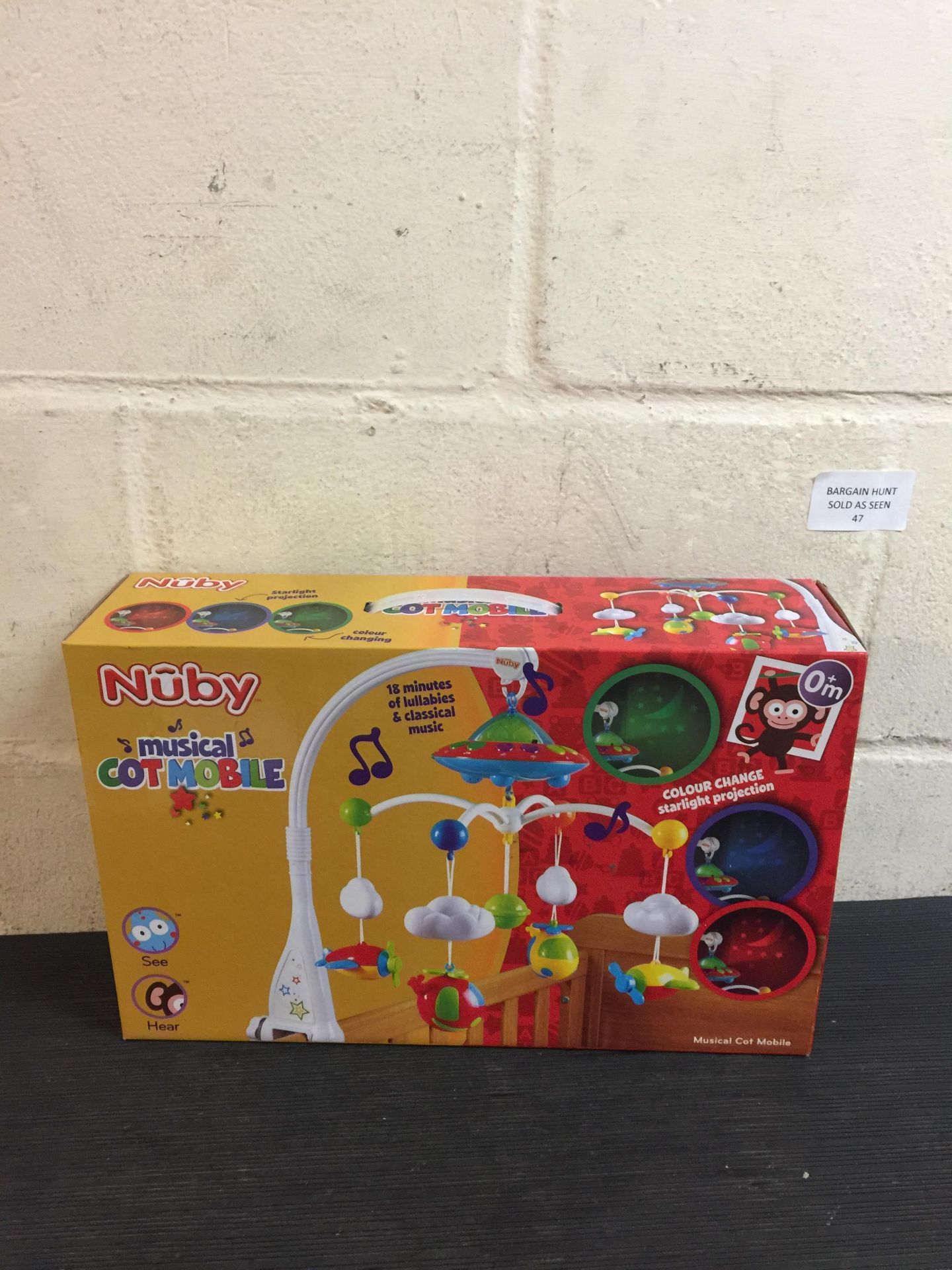 Lot 47 - Nuby Musical Cot Mobile