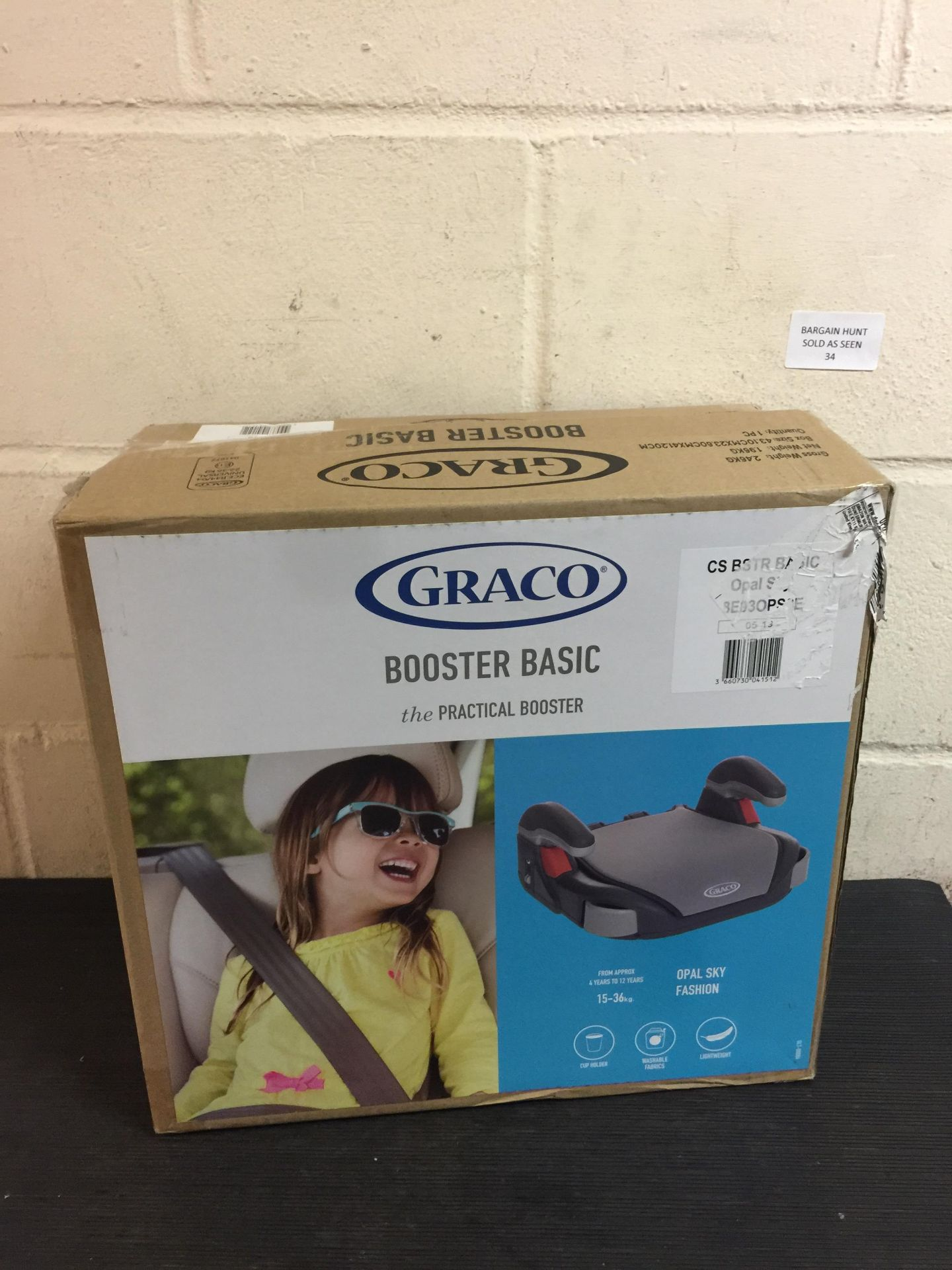 Lot 34 - Graco Booster Car Seat