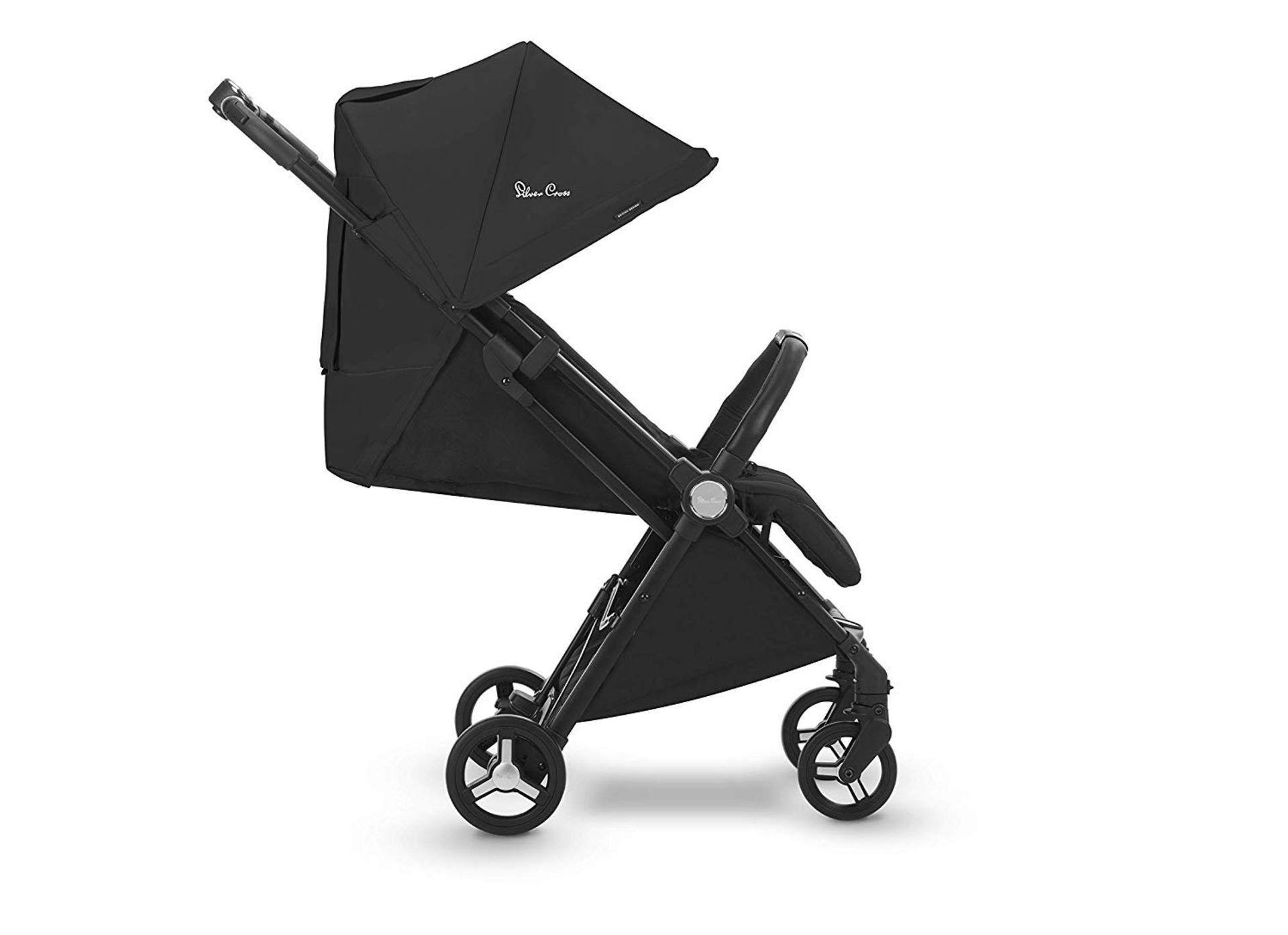 Lot 23 - Silver Cross Jet Stroller, Ebony RRP £215