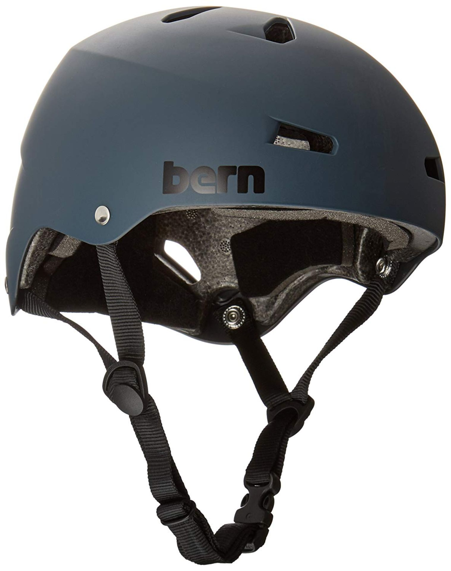 Lot 15 - Bern Unisex's Macon EPS Cycling Helmet, Mutted Teal, Medium
