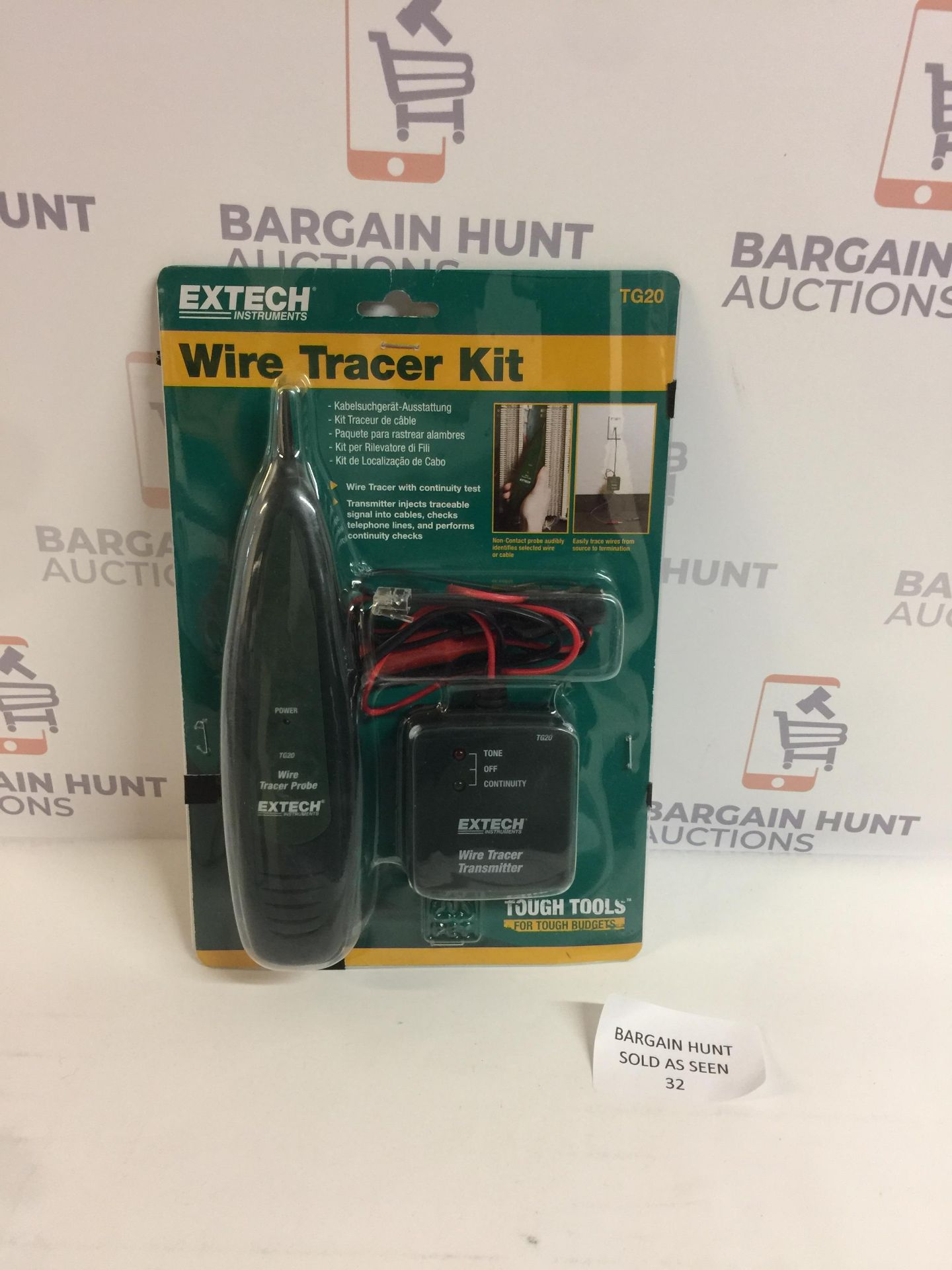 Lotto 32 - Extech Wire Tracer Kit