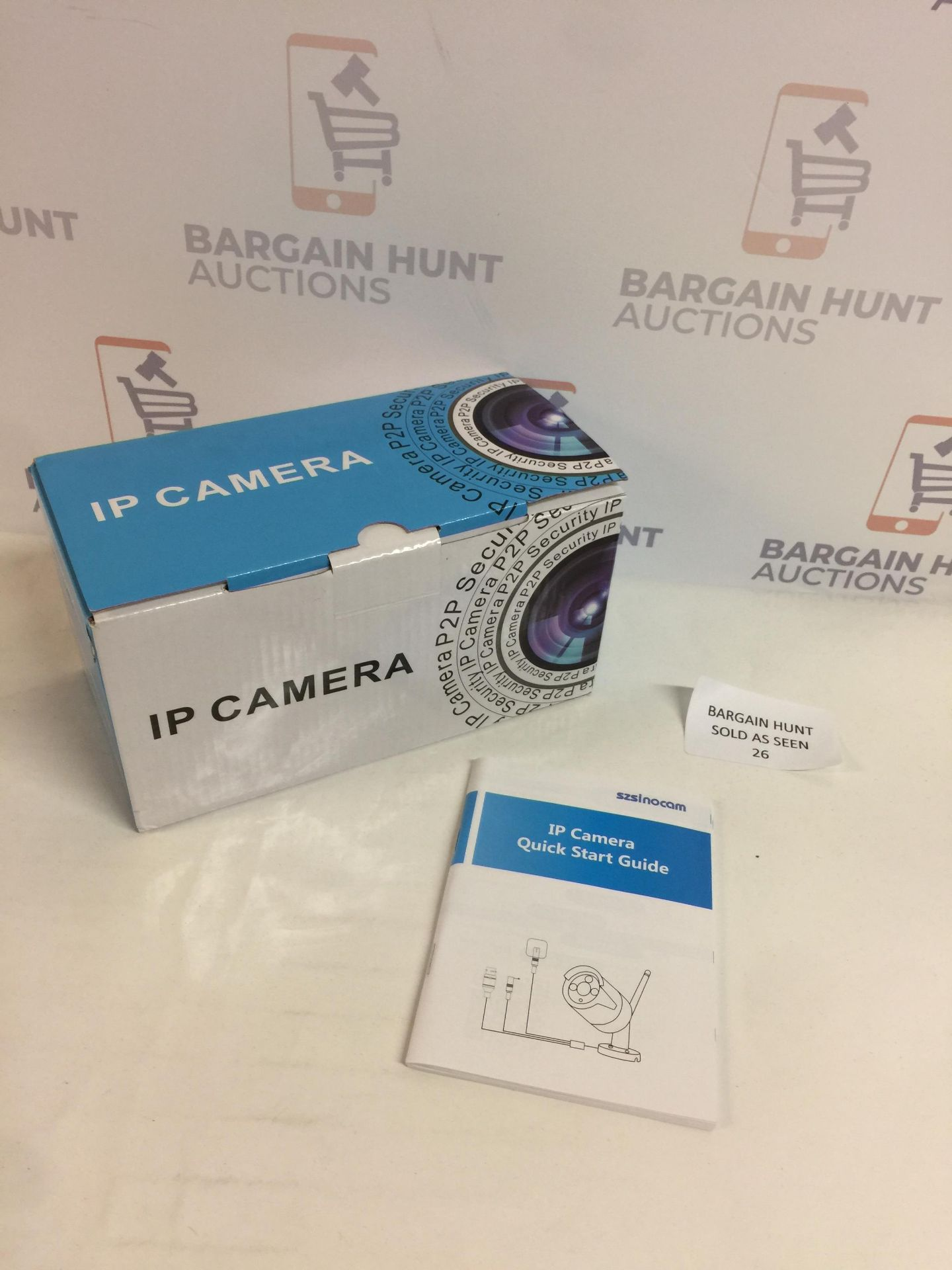 Lot 26 - Wireless IP Camera