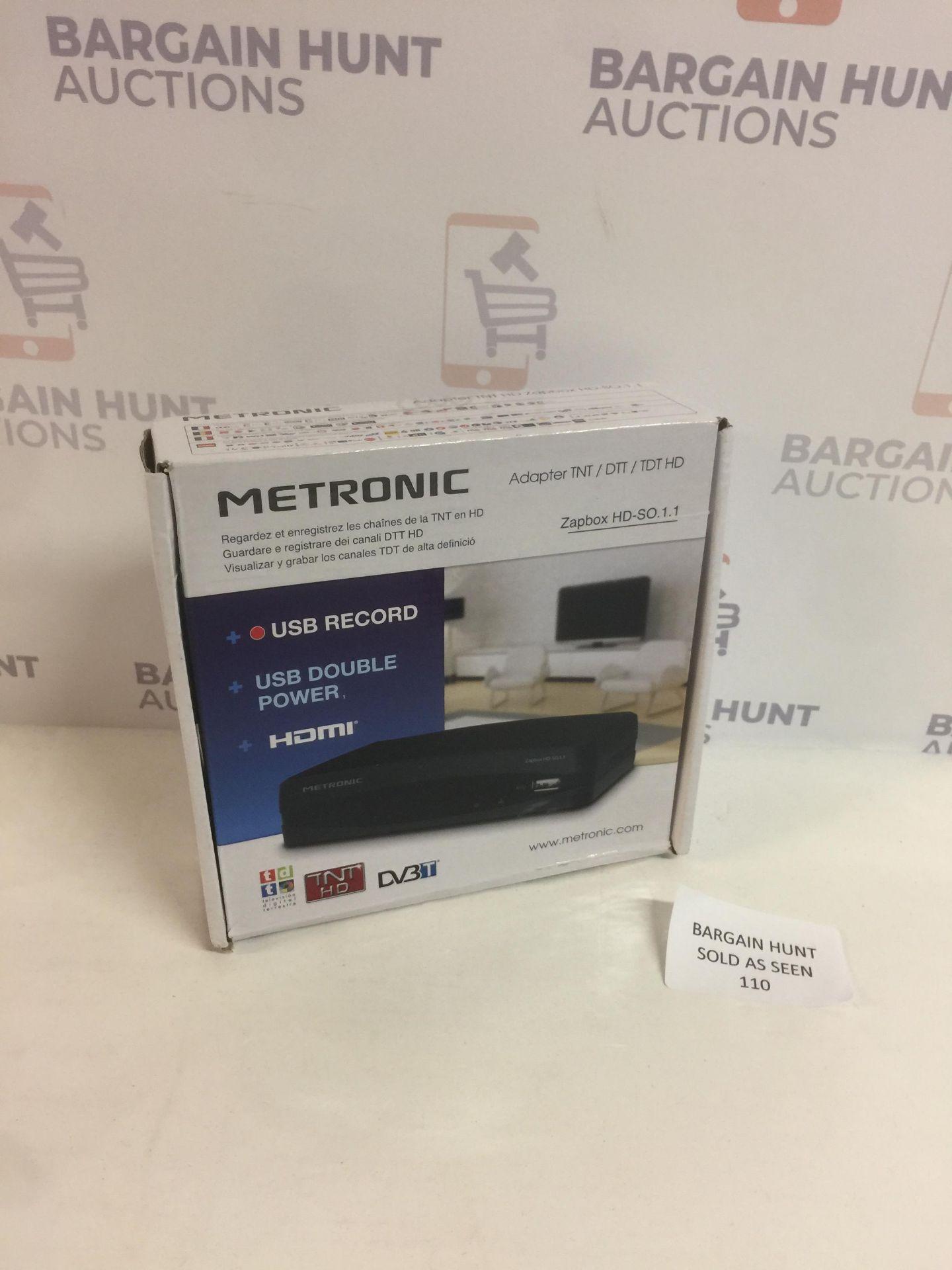 Lot 110 - Metronic HD Digital Receiver