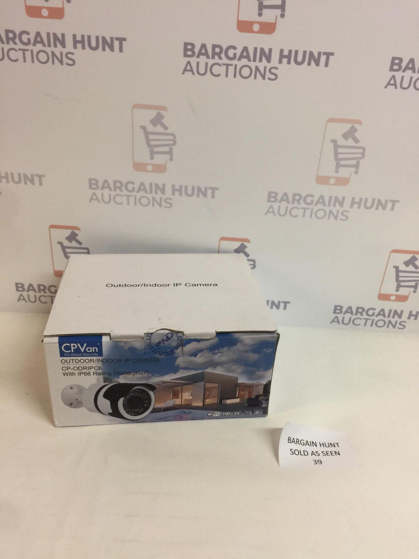 Lot 39 - CPVan Outdoor/ Indoor IP Camera