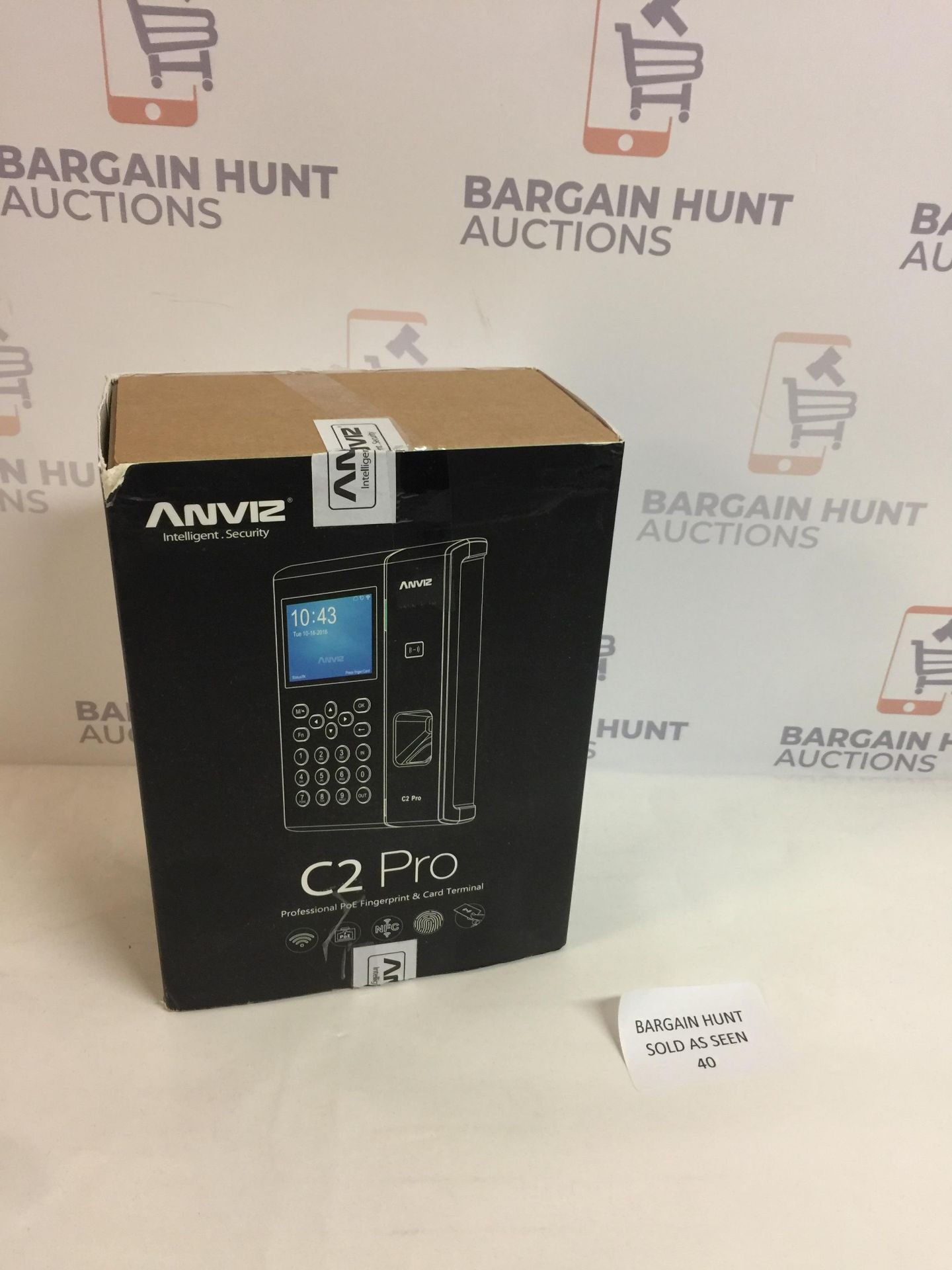 Lot 40 - Anviz C2 Pro - Access Control Professional POE Fingerprint & Card Terminal RRP £199.99