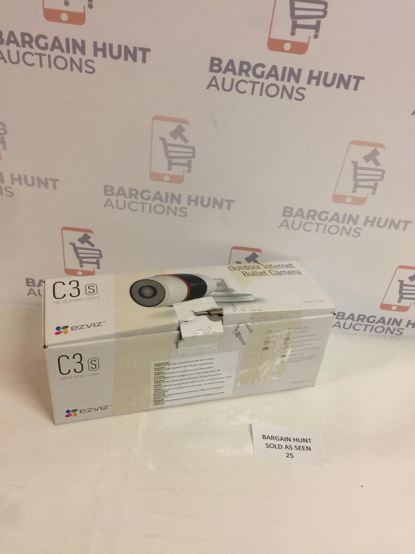 Lot 25 - EZVIZ C3S WiFi Smart Home Security Camera, 1080P Outdoor Security IP Camera