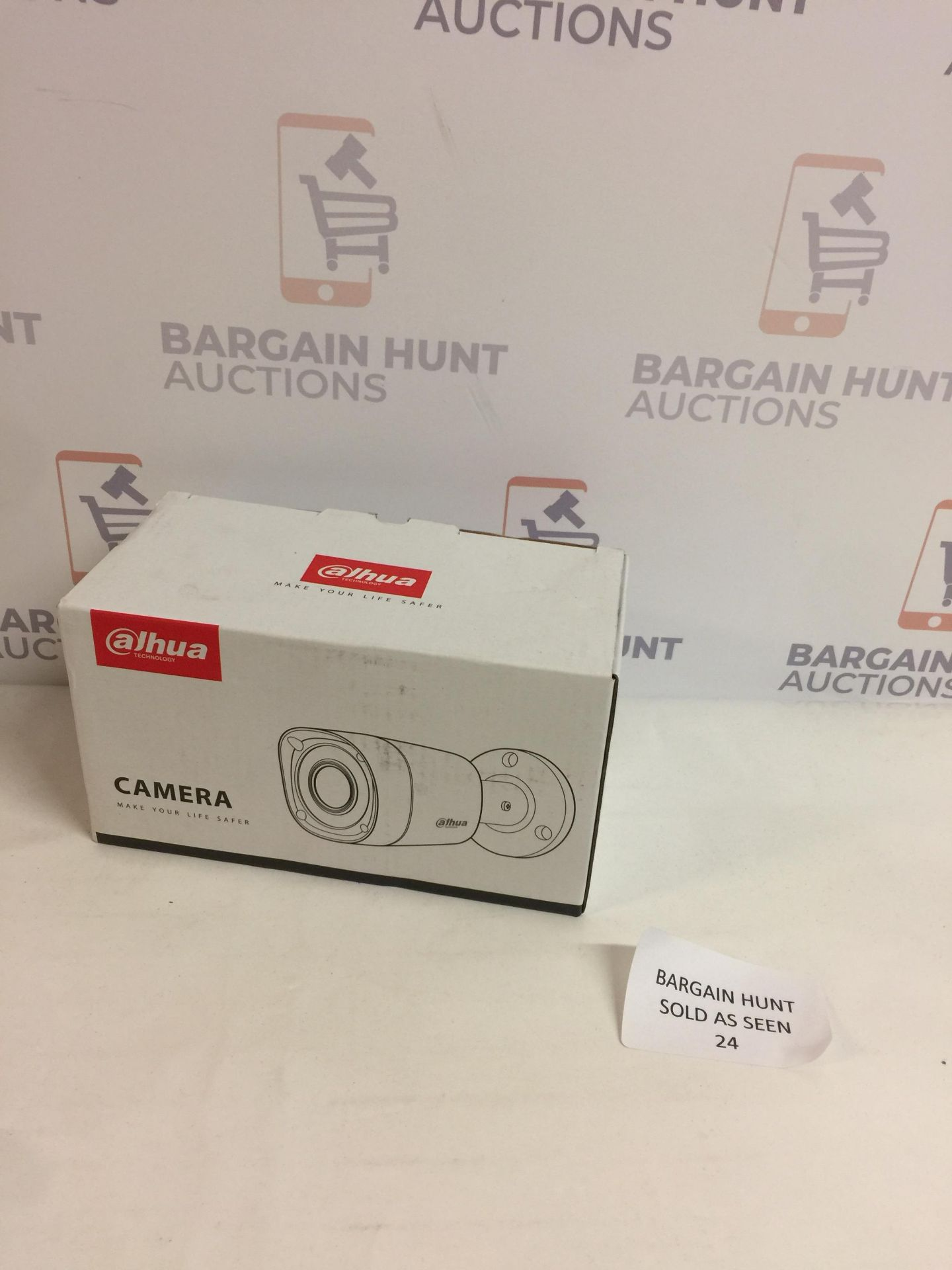 Lot 24 - Dahua hac-hfw1220rm-s3 Outdoor Bullet Camera 4 in 1 Series Cannon with IR Illumination