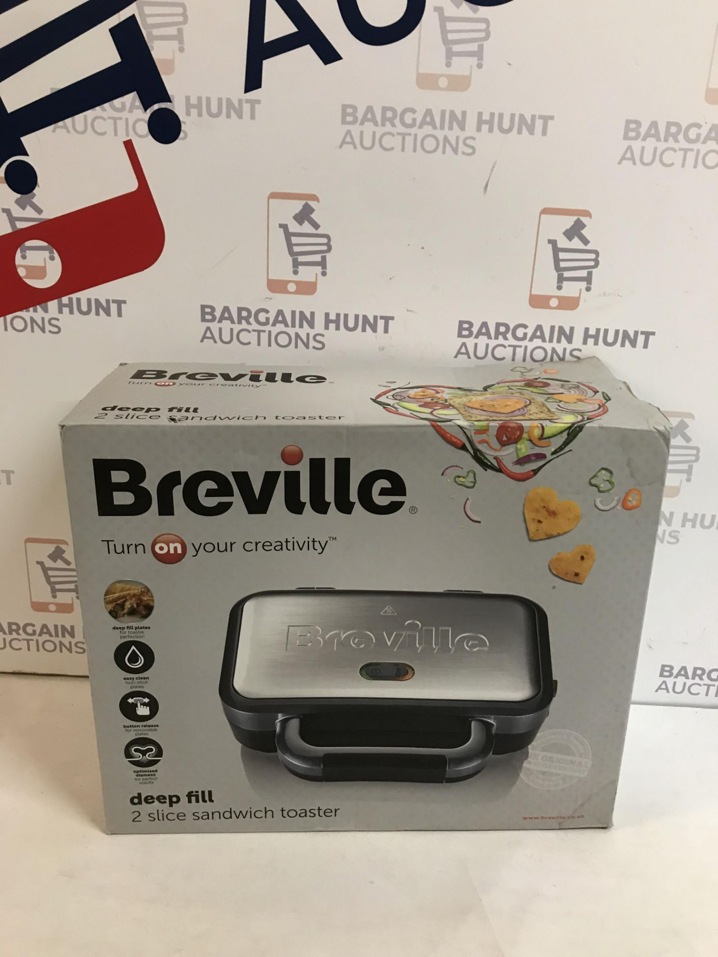 Lot 47 - Breville Sandwich Toaster