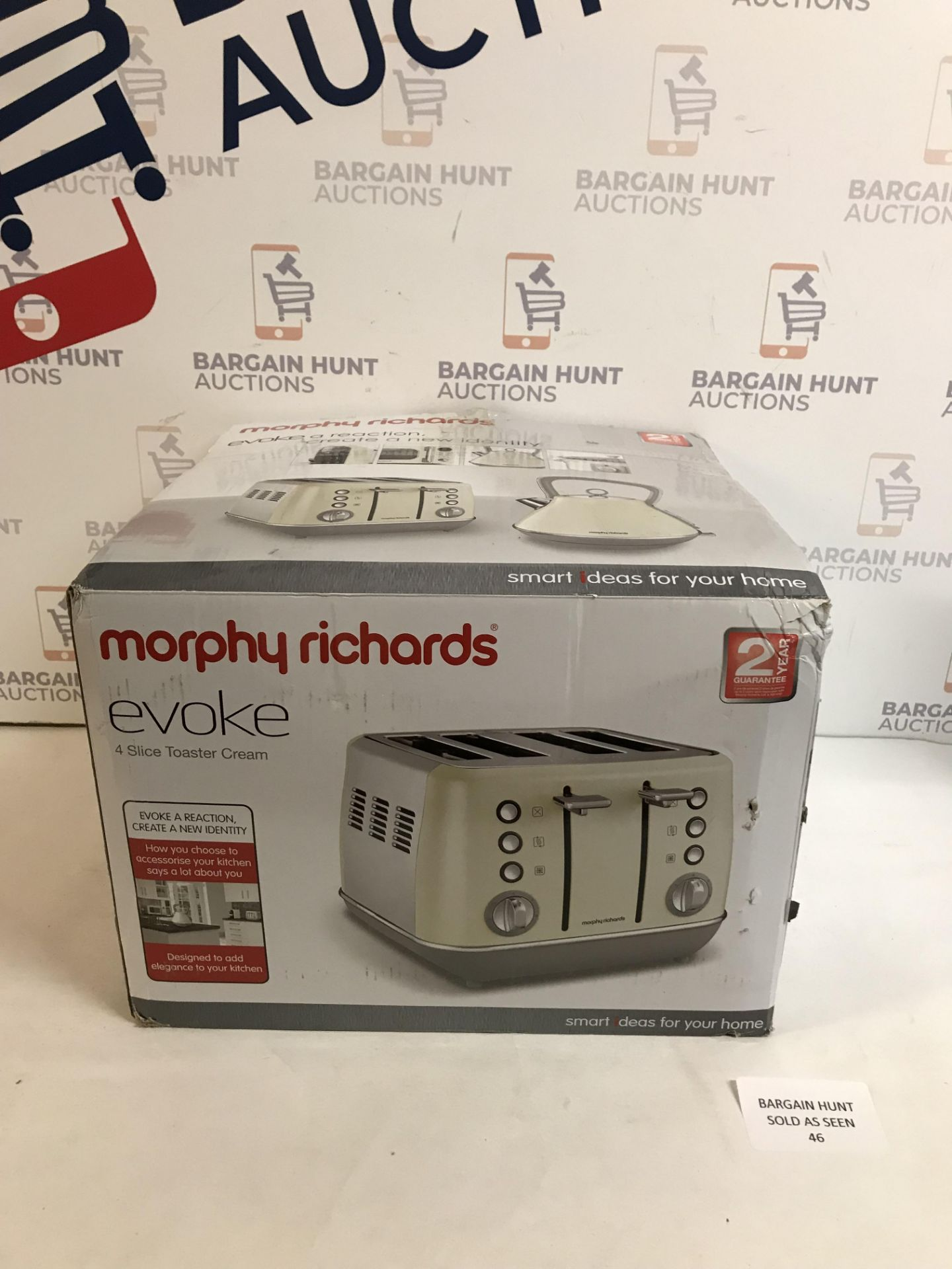 Lot 46 - Morphy Richards Toaster