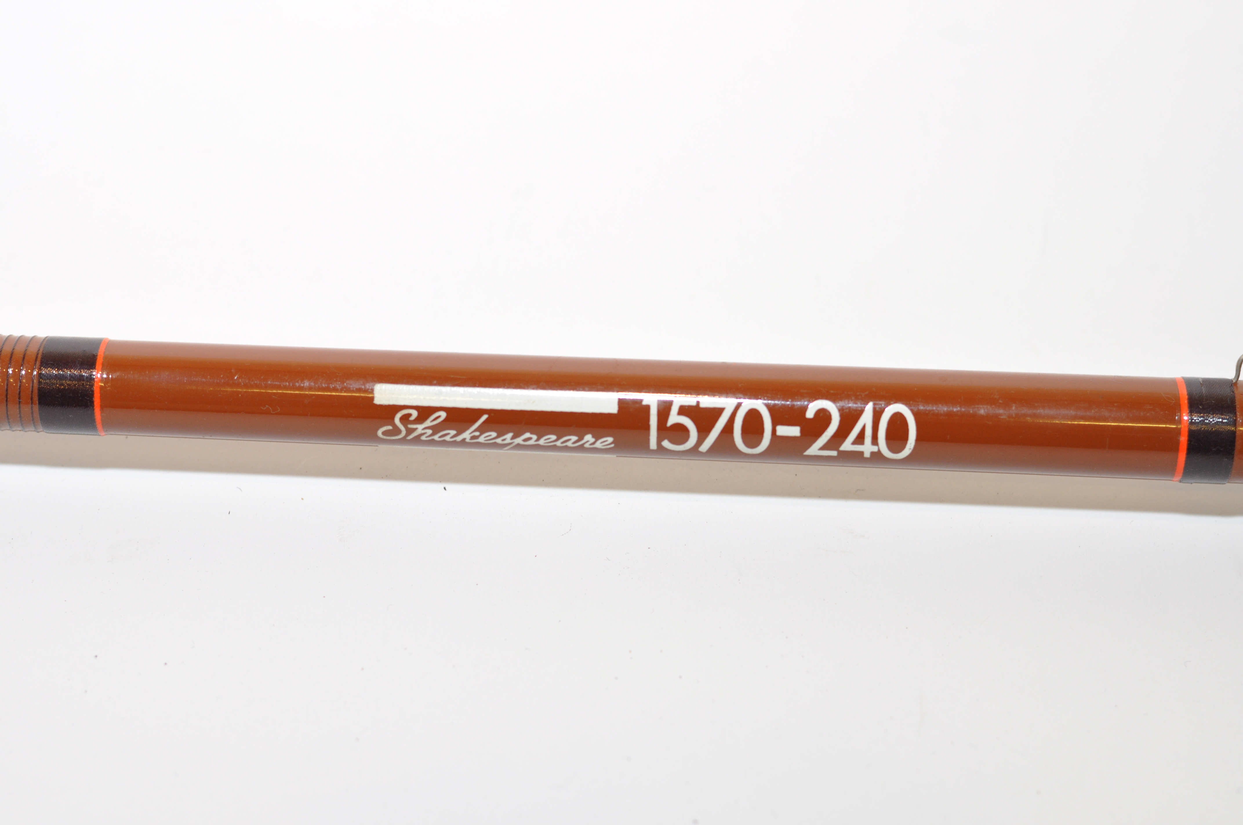 Lot 35 - SHAKESPEARE 1570-240 FISHING ROD AND BAG