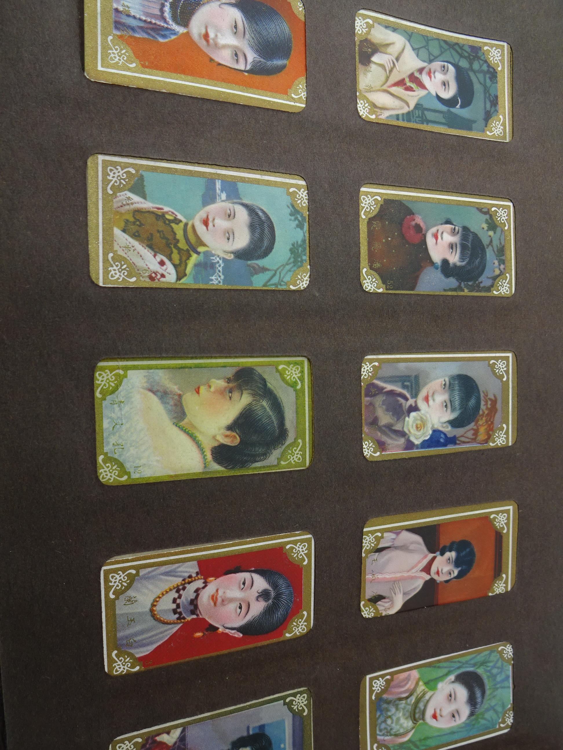 Lot 316 - FOLDER OF VINTAGE CIGARETTE / TEA CARDS INCLUDING PLAYERS, DE RESZKE , ORIENTAL,