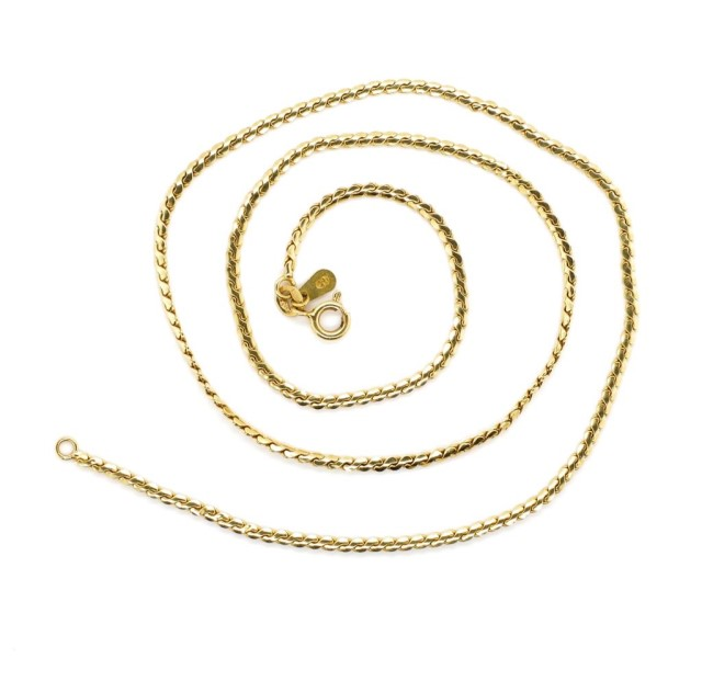 Lot 51 - 18ct yellow gold chain necklace
