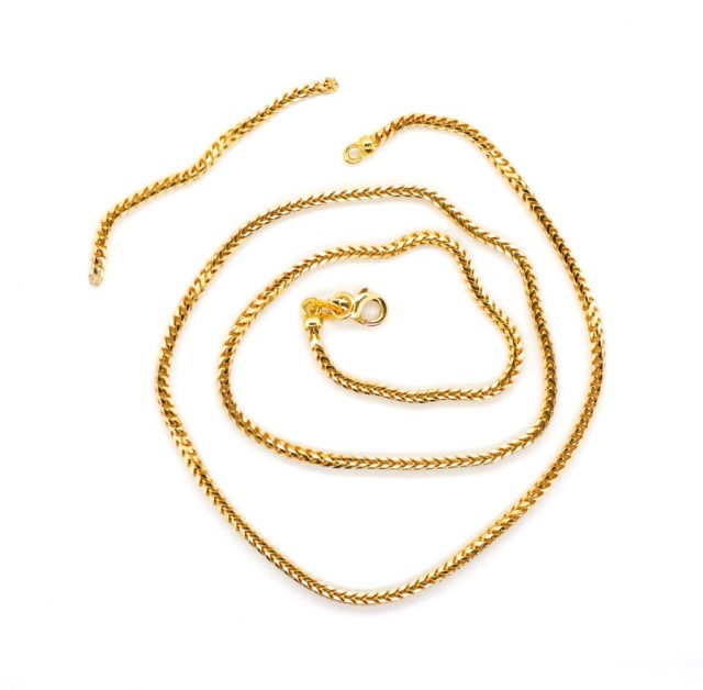 Lot 53 - 18ct yellow gold chain