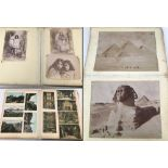 A Victorian/Edwardian photograph album containing Arthur James Iles photographs of Maori girls.