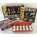 3 boxed 1970s - 80s pre school toys in as new condition, boxes show signs of wear.