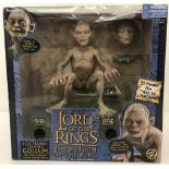 A boxed 2003 Toy Biz LOTR The Return of the King battery operated electronic talking Gollum/Smeagol.