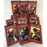 12 Marvel's Mightiest Heroes books.