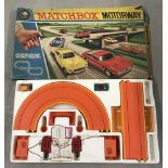 A boxed vintage M2 Matchbox motorway by Lesney.