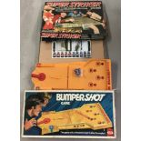 A 1970's boxed Bumpershot pinball game by Ideal.