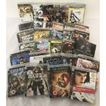 A collection of 31 PlayStation 3 games.