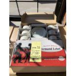 (2) Boîtes de assiettes Porcelaine ARMAND LEBEL