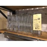 Lot de (48) verres à eau, grands