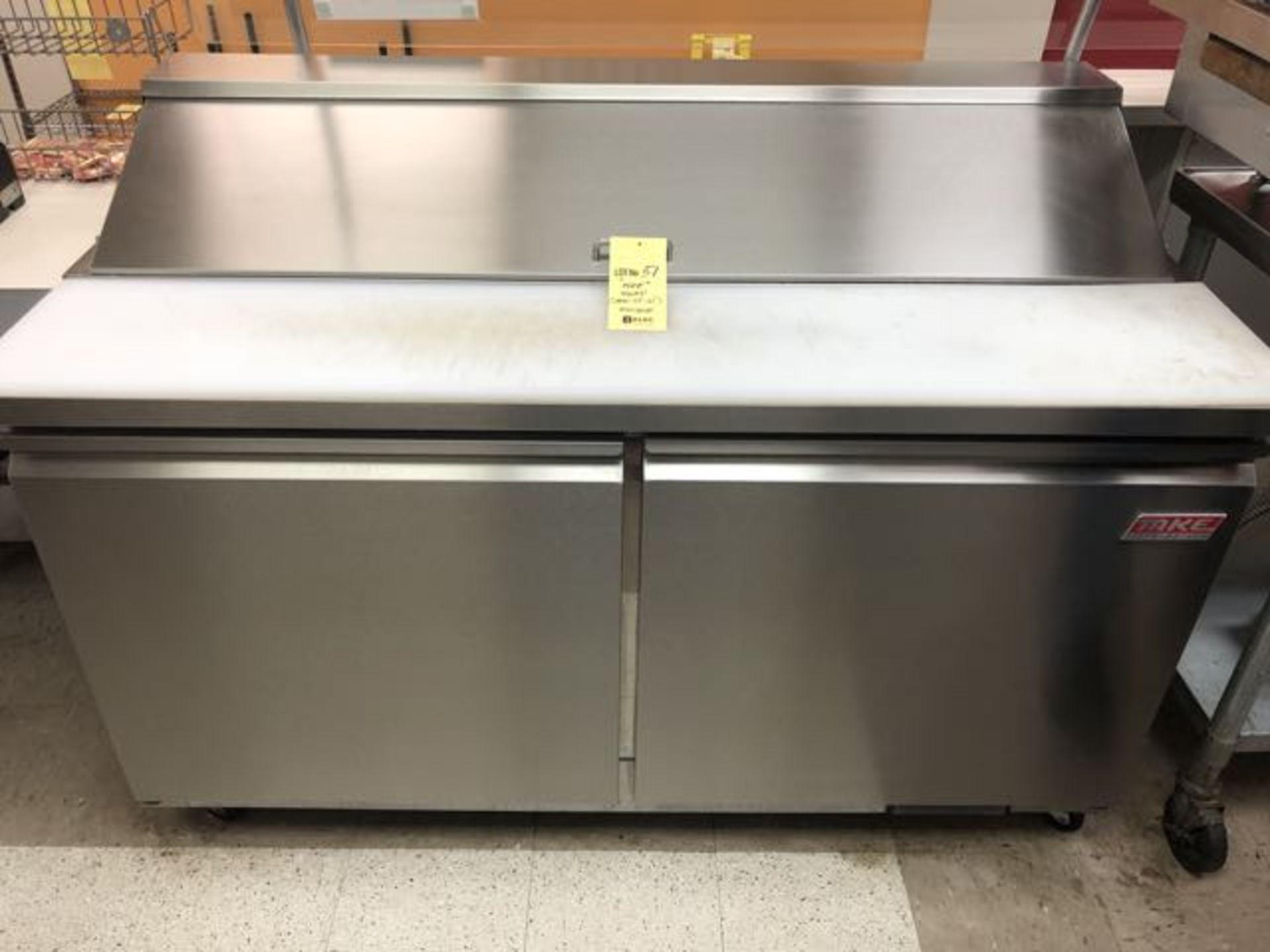 """Table de préparation réfrigérée, compresseur intégré, 2 portes MKE # IMK SR 61"""""""