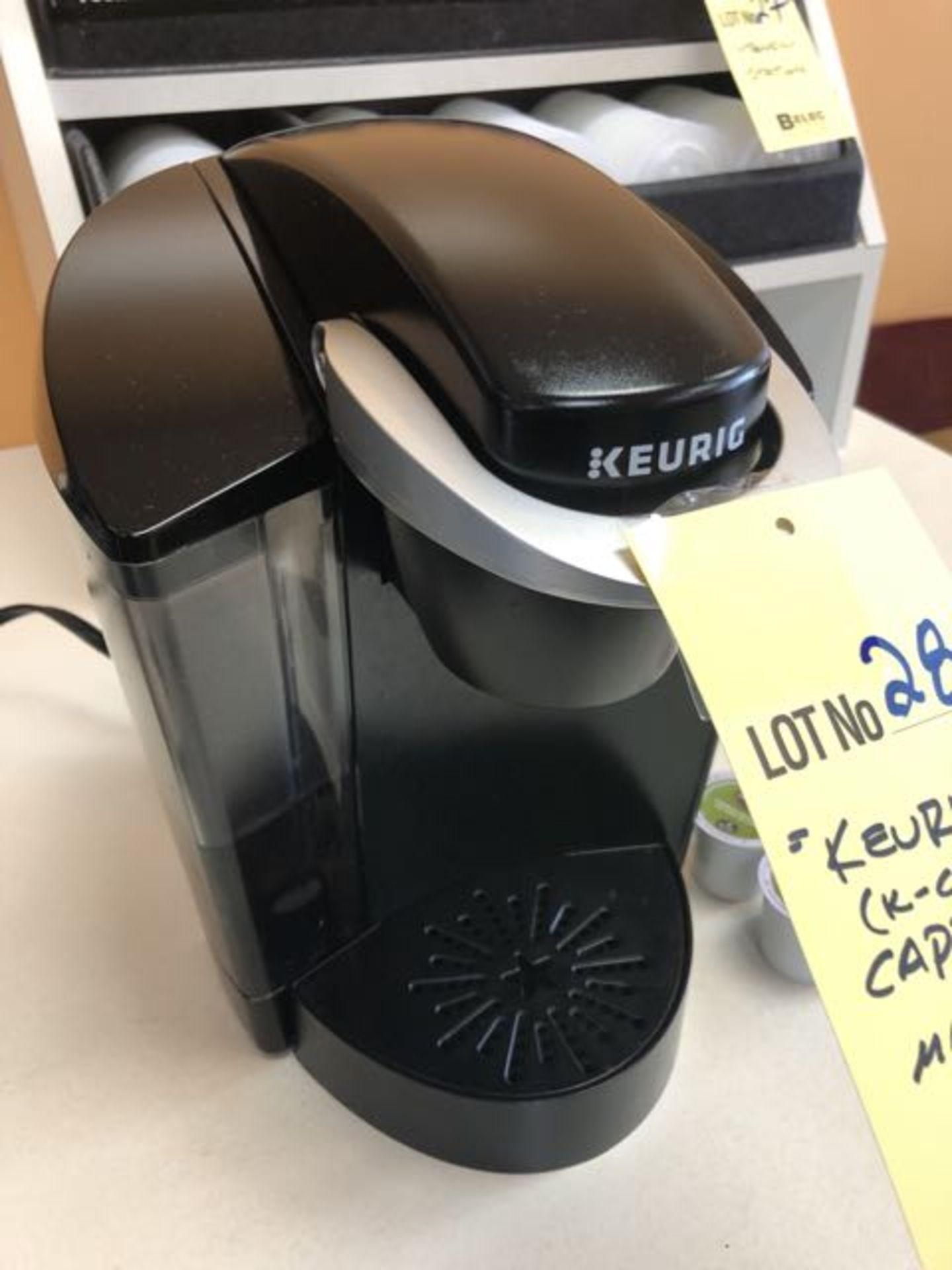 Machine café KEURIG - K CUPS