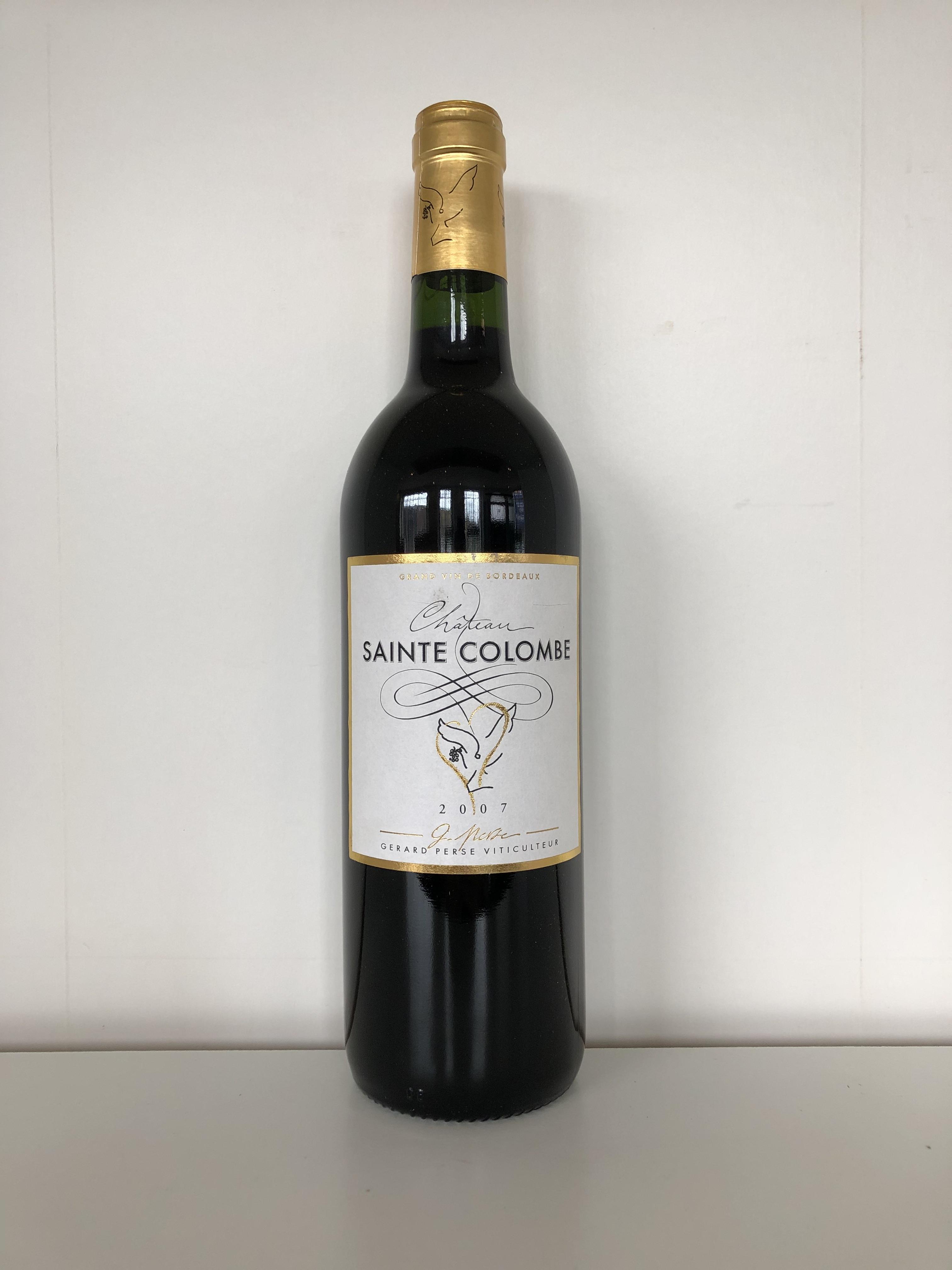 Lot 54 - 2007 Saint Colombe, Gerard Perse, Bordeaux, France, 12 bottles