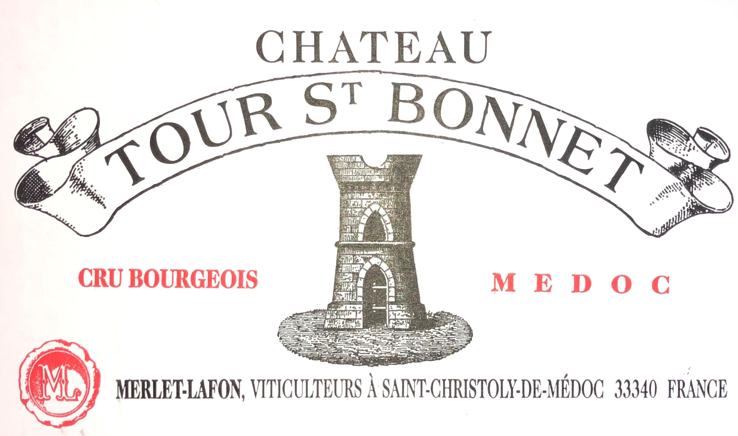 Lot 46 - 1998 Tour St Bonnet, Medoc, Bordeaux, France, 12 bottles