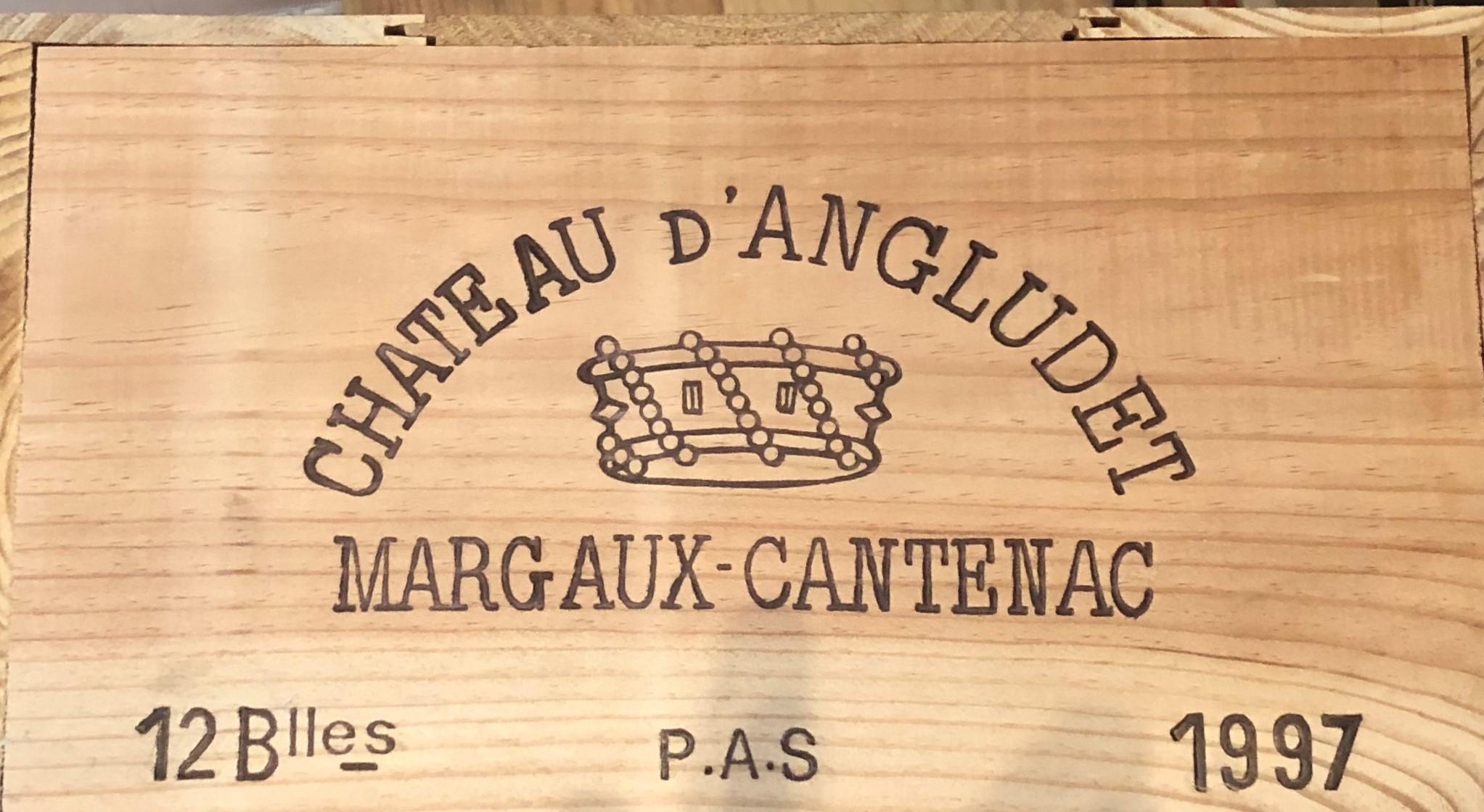 Lot 43 - 1997 Angludet, Margaux, Bordeaux, France, 12 bottles