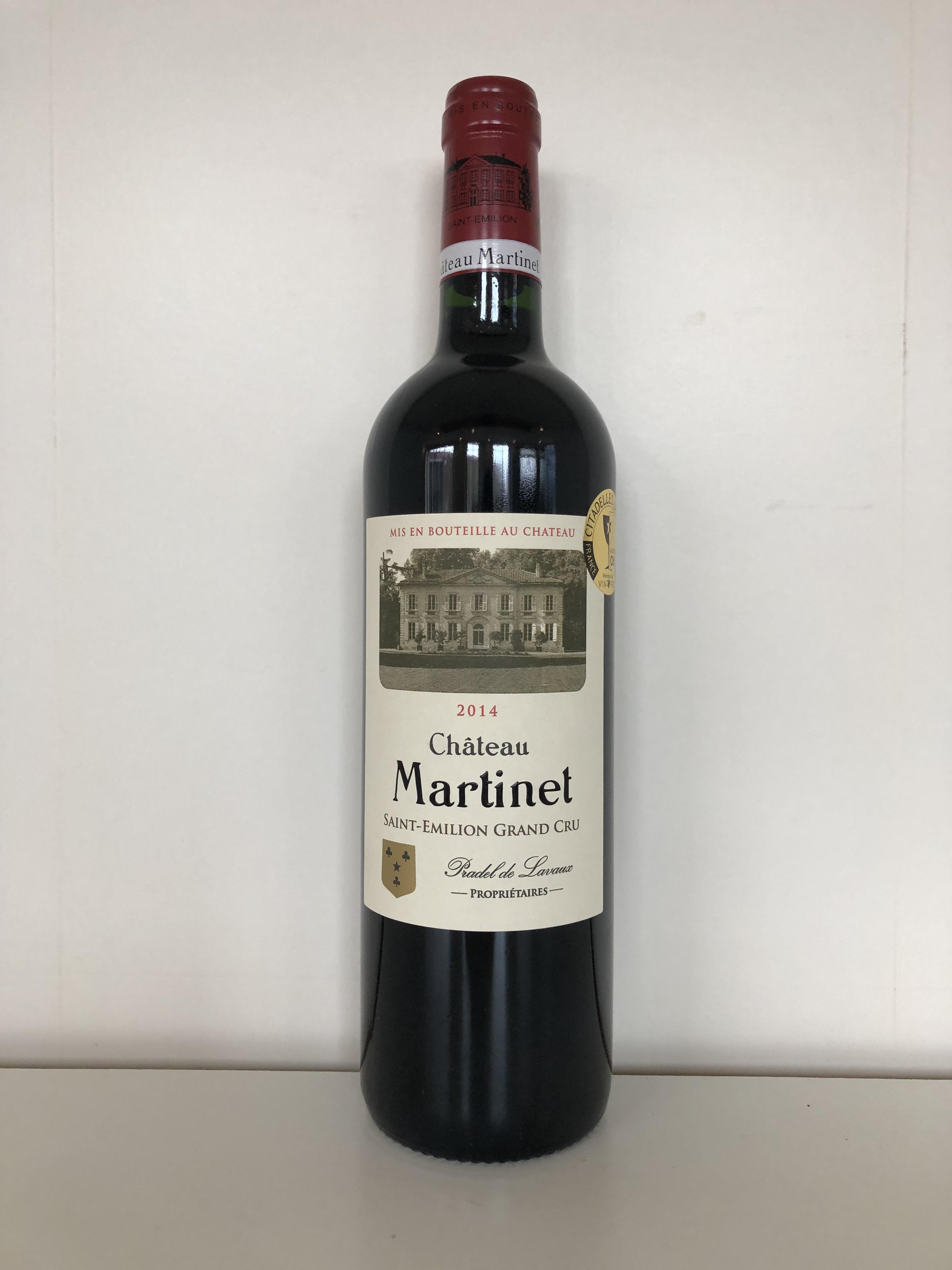 Lot 57 - 2014 Martinet, St Emilion GC, Bordeaux, France, 12 bottles